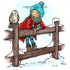 Grace and the Owl