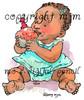 First Birthday Cupcake, girl