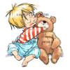 Bastian with Bear