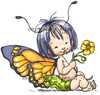 Baby Fairy Butterfly