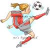 Soccer Gal (c)