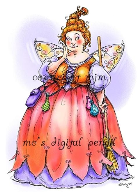 Chubby Fairy Godmother