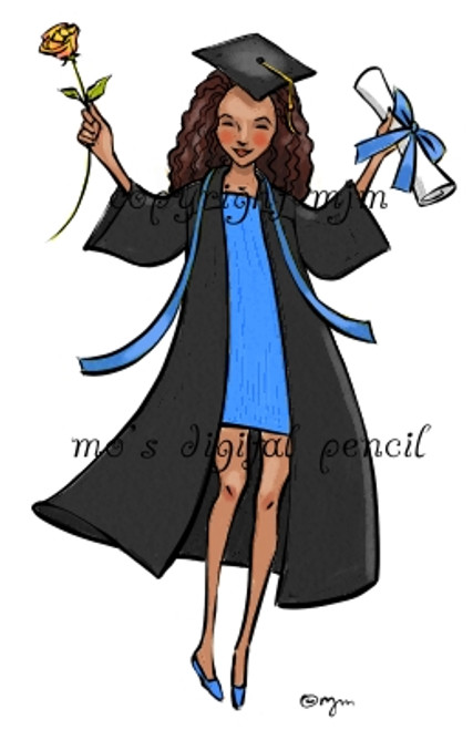Grad with Rose c