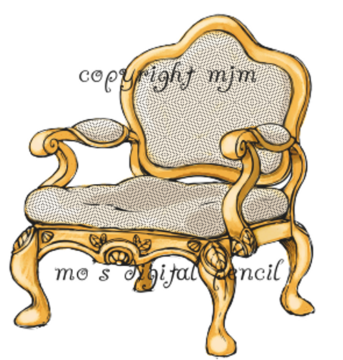 Country French Chair