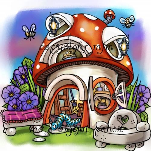 Mushroom Hut (Separated)
