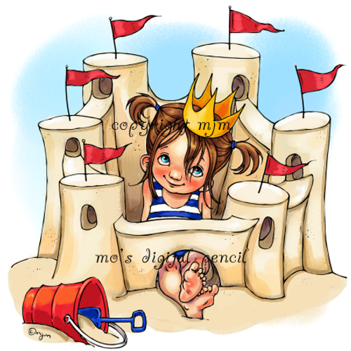 Sand Castle Queen