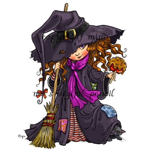 Candy Apple Witch