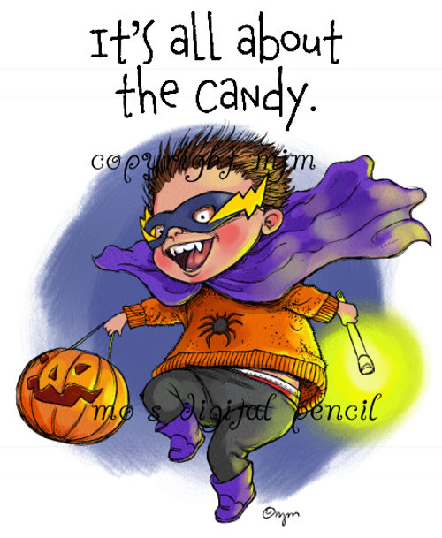 It's all about the Candy! (boy)