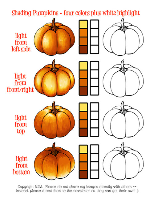 Pumpkin Practice Sheet