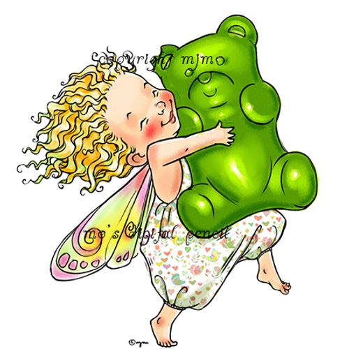Fairy with Gummy Bear