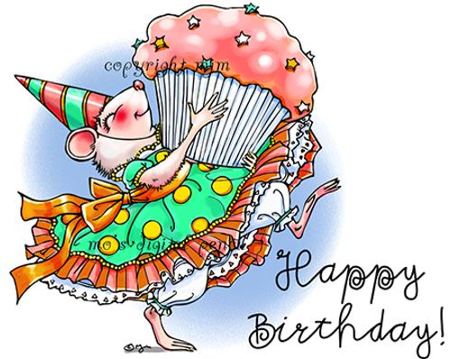 Birthday Mouse (Redux)