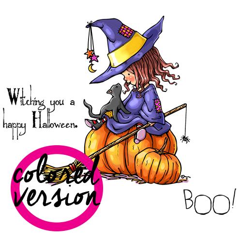 Little Witch Henrietta (PRECOLORED)