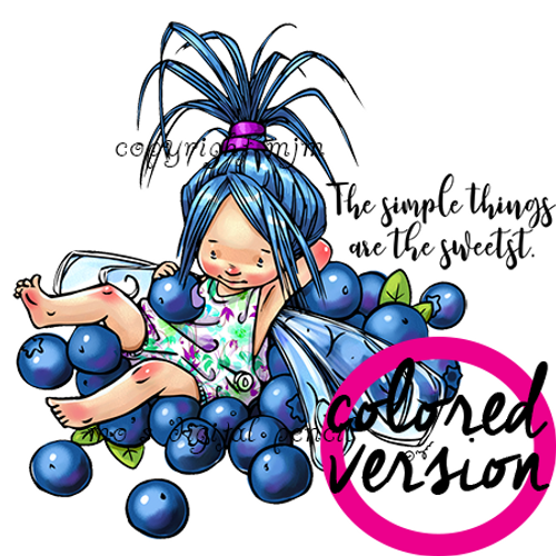 Berry Fairy Aili (PRECOLORED)