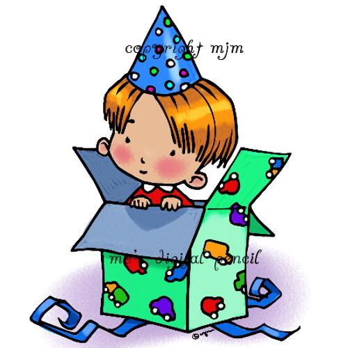Party Tots (Boy Box)