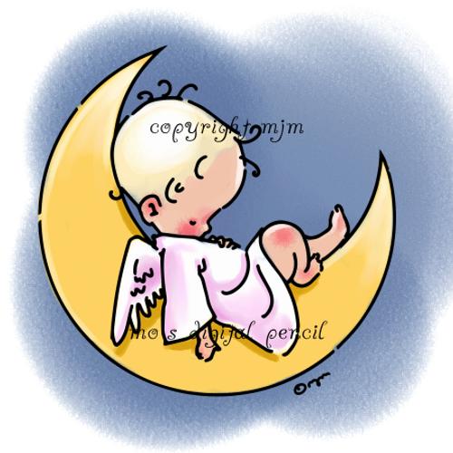 Cherub on the Moon