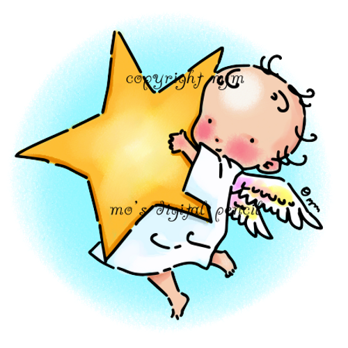 Cherub with Star