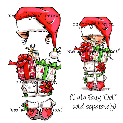 Lula Christmas Elf (clothes only)