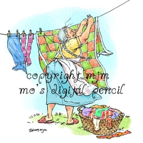 Mummu's Laundry