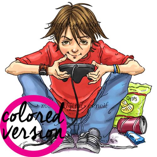 Video Boy (PRE-COLORED)