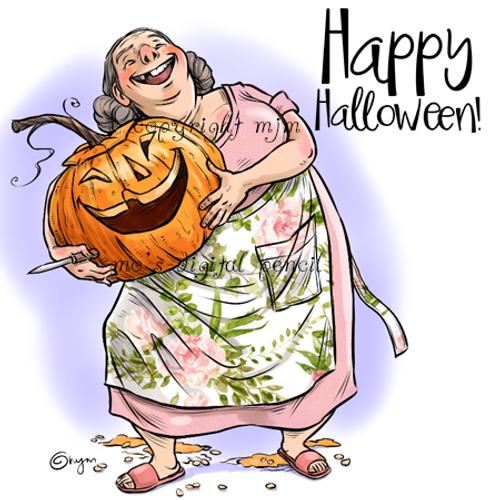Patty and Pumpkin