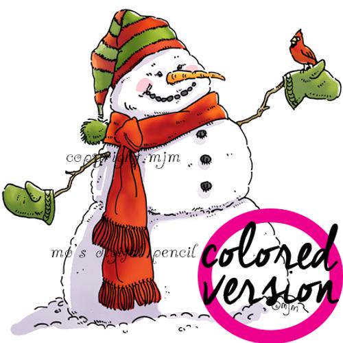 Snowman (Precolored)