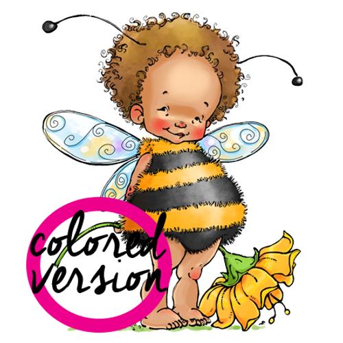 Baby Fairy B (precolored)
