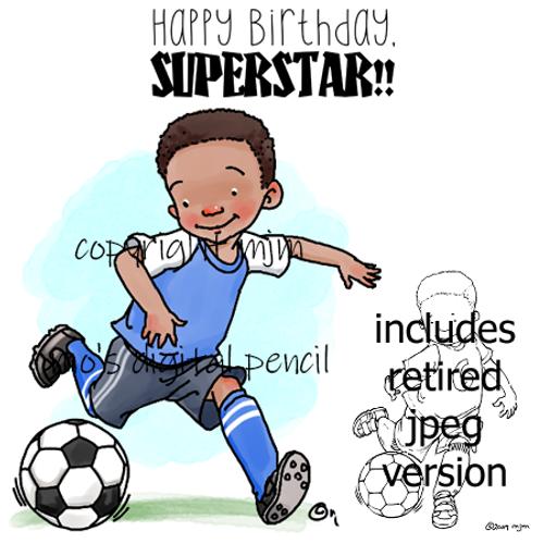 Soccer Boy c (redux)