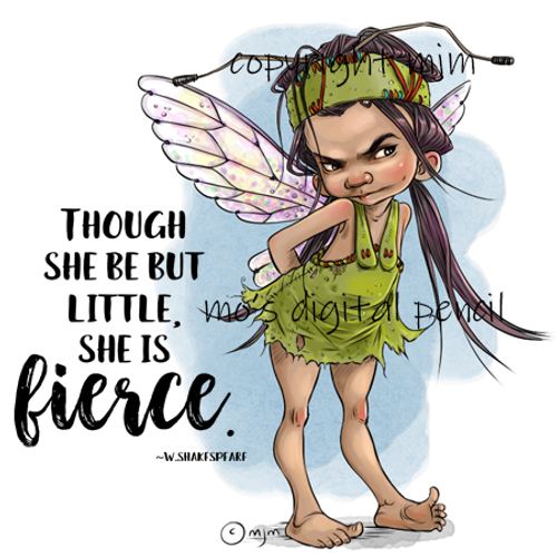 Fierce Fairy Frankie
