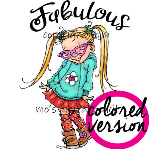 Fabulous (PRE-COLORED)