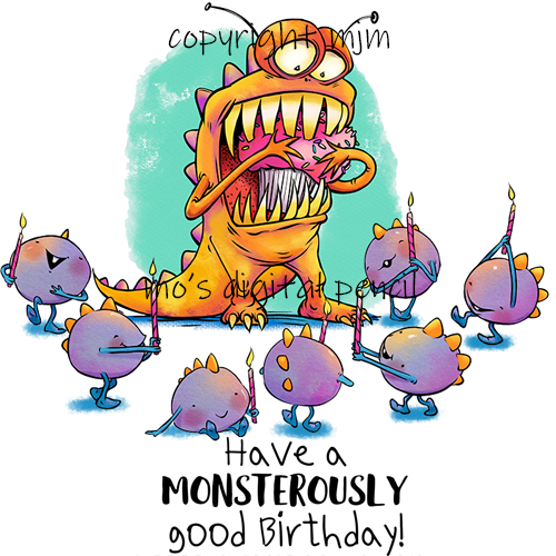 Cupcake Monster (SEPARATED)