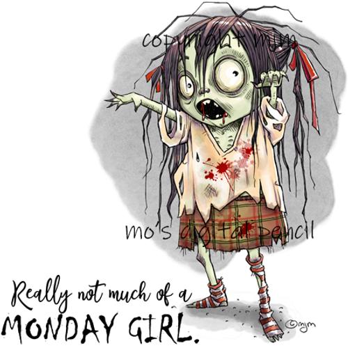 Schoolgirl Zombie