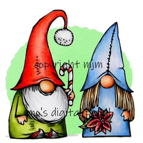 Gnomes Frode and Hedda
