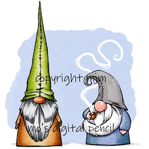 Gnomes Bjarni and Folke
