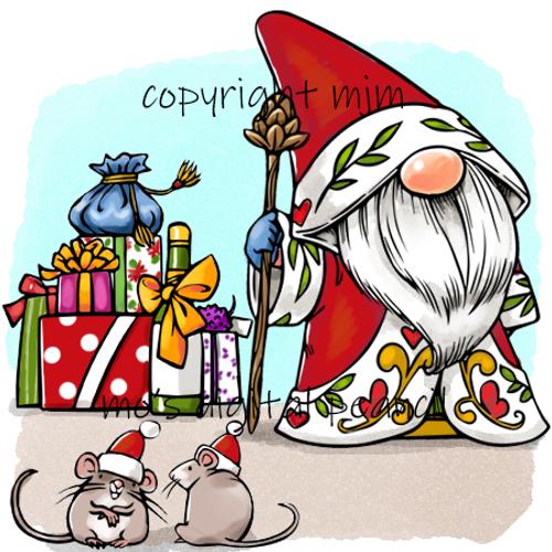 Father Christmas Gnome  Set