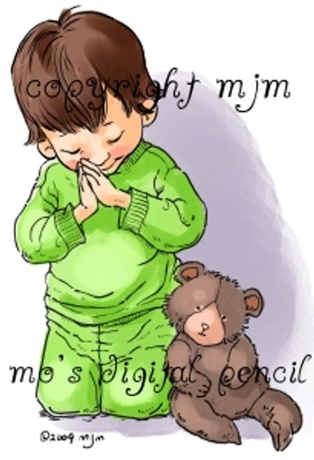 John Praying