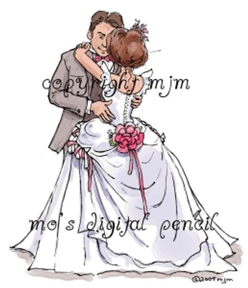 Bride and Groom (Dancing)