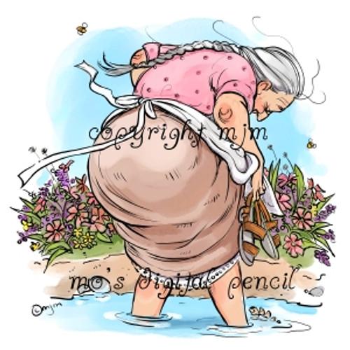 Mummu in Summer