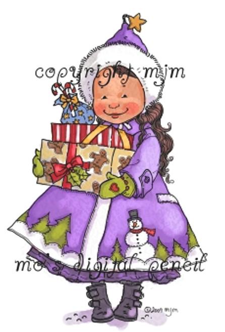 Noelle bearing Gifts