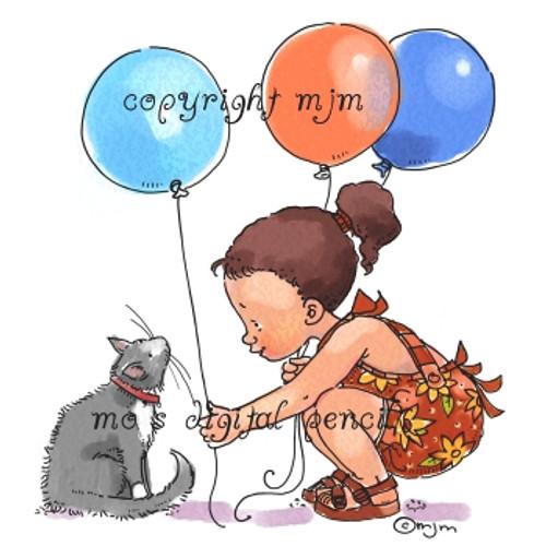 Maya's Balloons