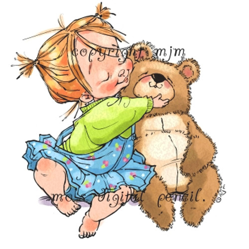 Beatrix with Bear
