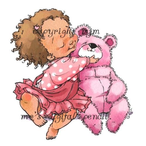 Billie with Bear