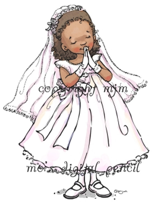 First Communion girl c