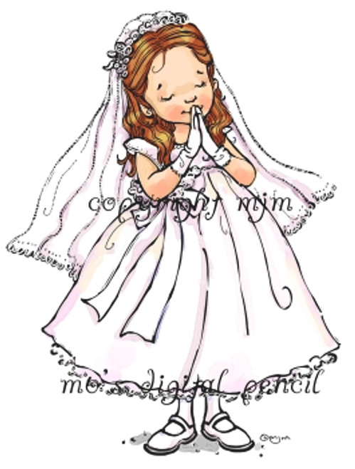 First Communion girl s