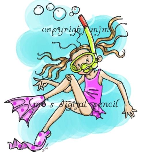 Snorkle Girl