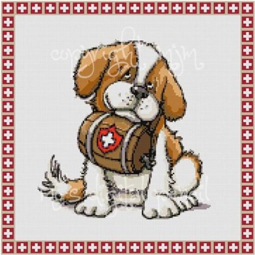 Cross Stitch Bernard