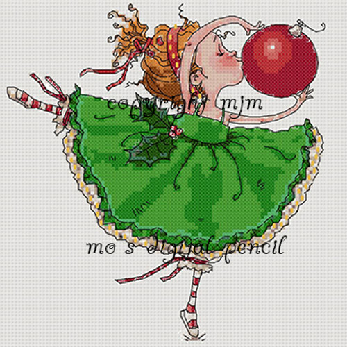 Cross Stitch Bella Loves Christmas
