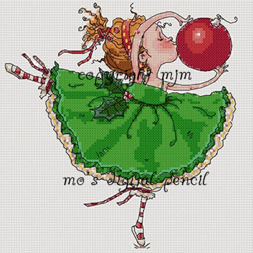 Cross Stitch Bella Loves Christmas
