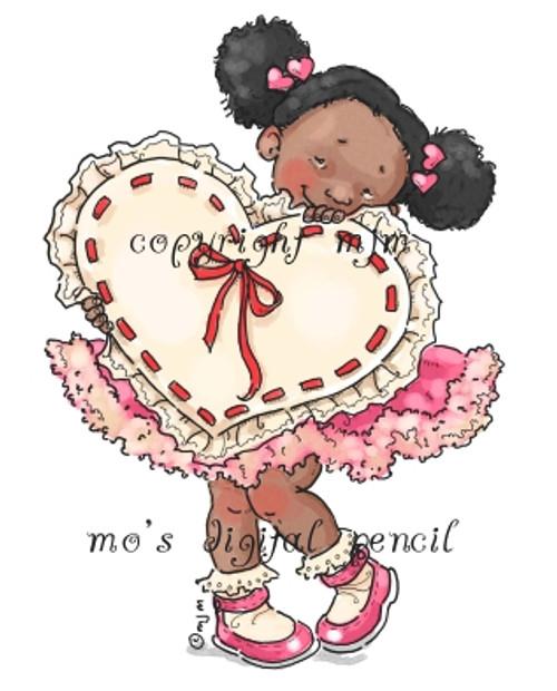 Shy Valentine Lila
