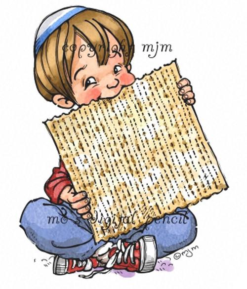 Benji at Passover