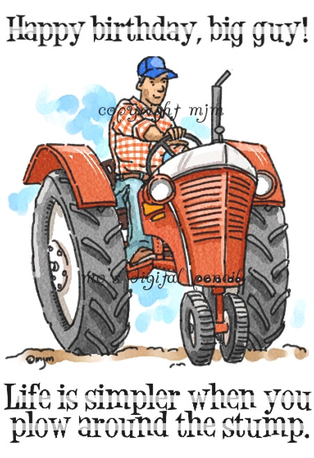 The Big Guy's Tractor